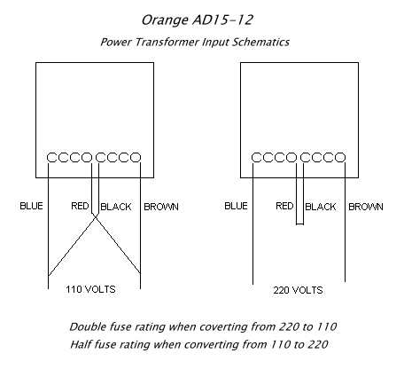 AD15_220_110  Amp Schematic Wiring Diagram on