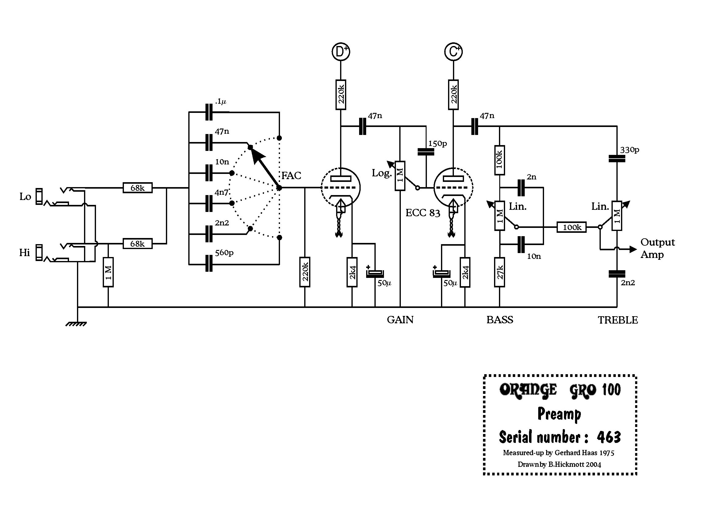 Wiring also GM70 Index in addition Ocl Power  lifier Circuit as well Stereo moreover Tone Control Tube   Circuit With 12au7. on tube amp power supply schematics